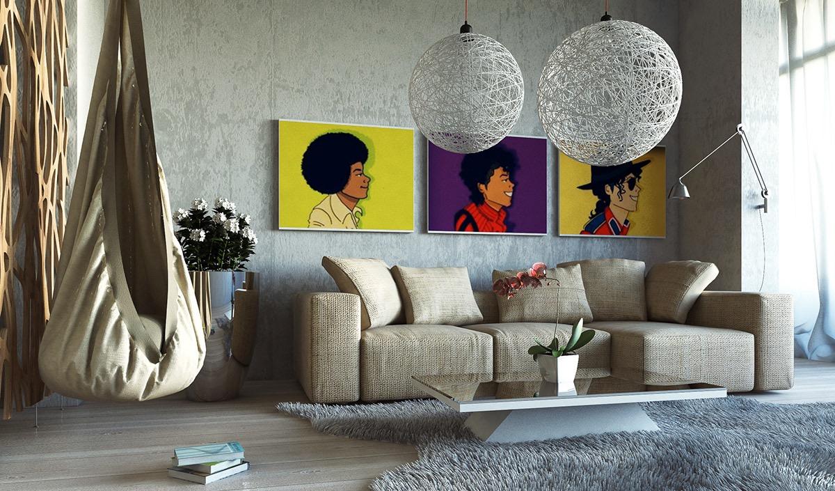 The Best Living Room Wall Art Décor, Art For Living Room Ideas